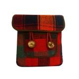 کیف دوشی جاجیم ( دو دکمه )